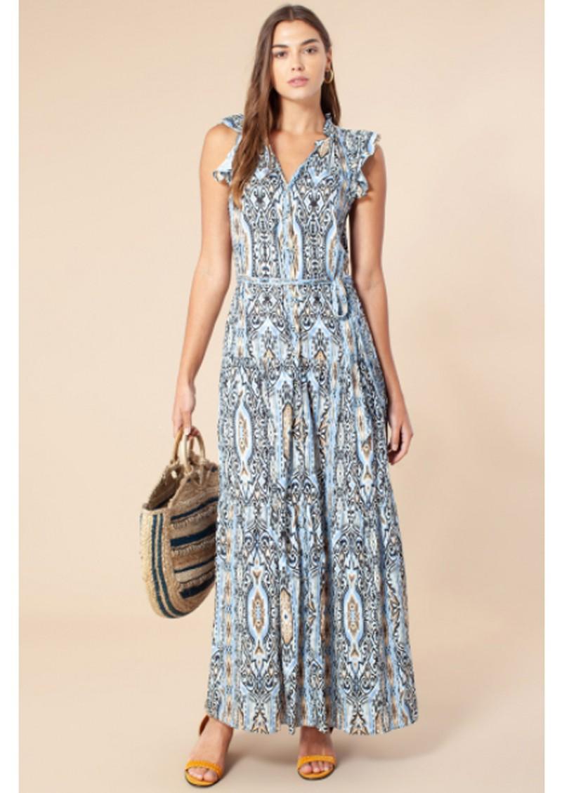 Hale Bob Bridget Maxi Dress - Blue main image