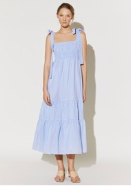 BY MALINA Eloise Dress - Blue Checker