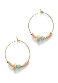 ANNI LU Wave Chaser Hoop Earrings - Gold
