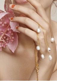 ANNI LU Baroque Pearl Citrine Necklace - Gold