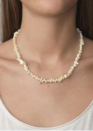 ANNI LU Chips & Lemon Necklace - Gold