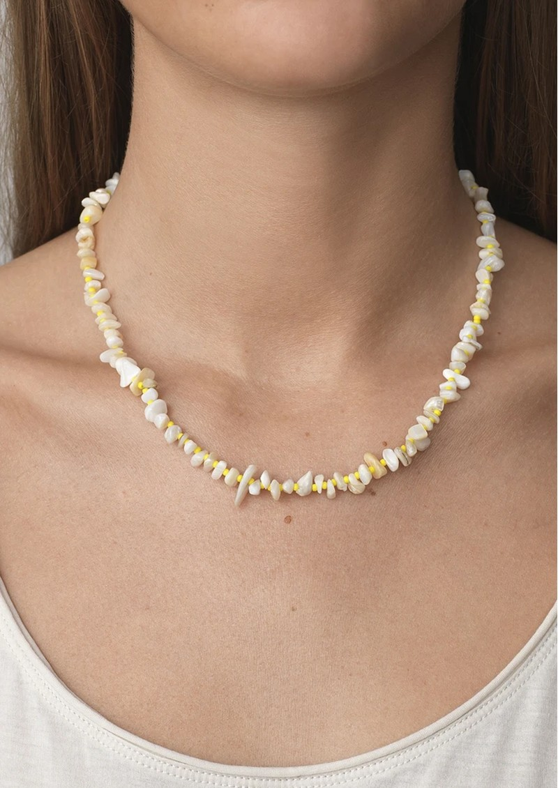 ANNI LU Chips & Lemon Necklace - Gold main image
