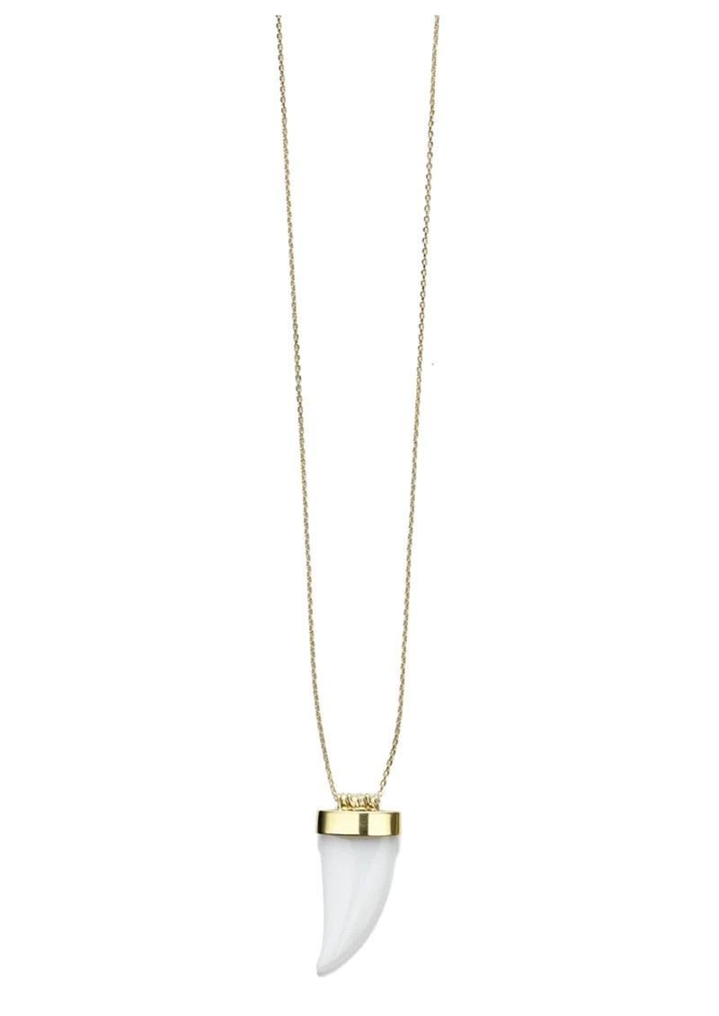 ANNI LU Jaws Big Wave Necklace - Gold main image