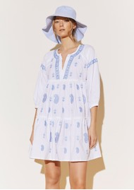 BY MALINA Mimi Dress - Sky Blue