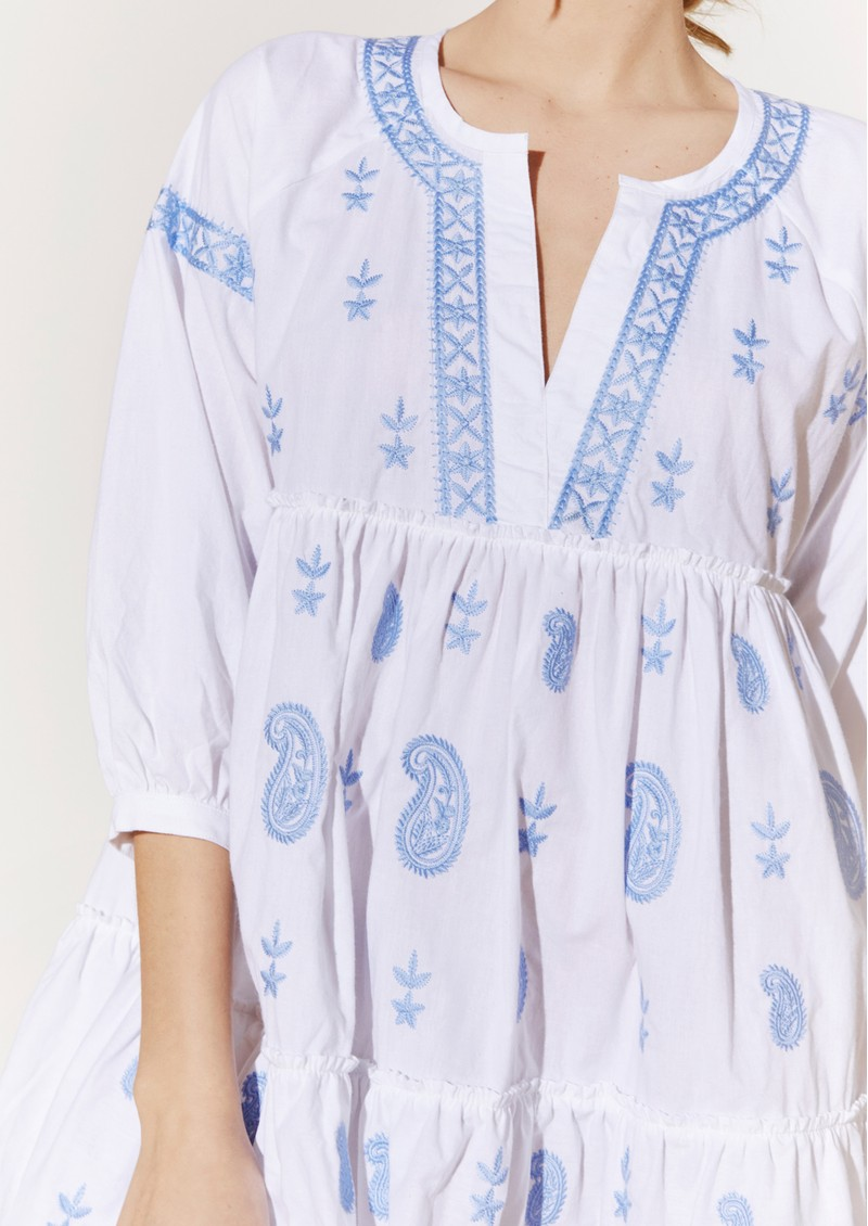 BY MALINA Mimi Dress - Sky Blue main image