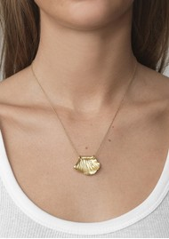 ANNI LU Surfrider Necklace - Gold
