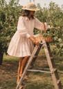 Allie Shirt Dress - Pink Stripe additional image