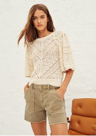 Ba&sh Cselby Shorts - Kaki