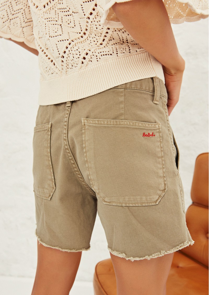 Ba&sh Cselby Shorts - Kaki main image