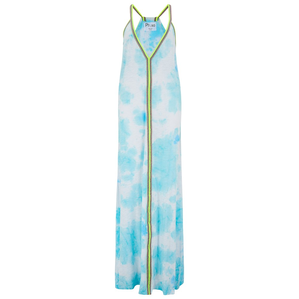 Tie Dye Sundress - Light Blue