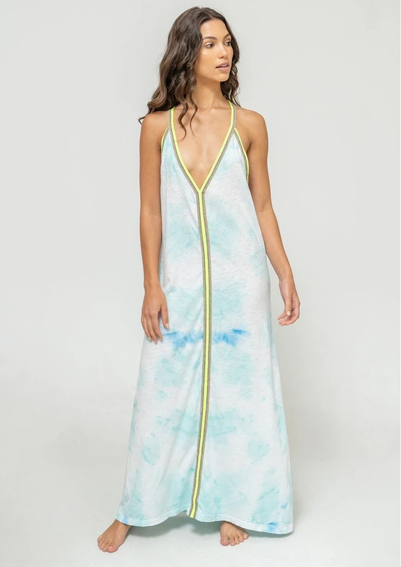 PITUSA Tie Dye Sundress - Light Blue main image