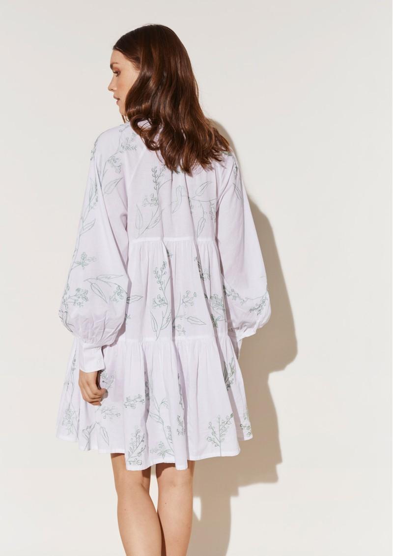 BY MALINA Alexi Shirt Dress - White main image