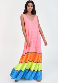 PITUSA Rainbow Tank Maxi Dress - Brights