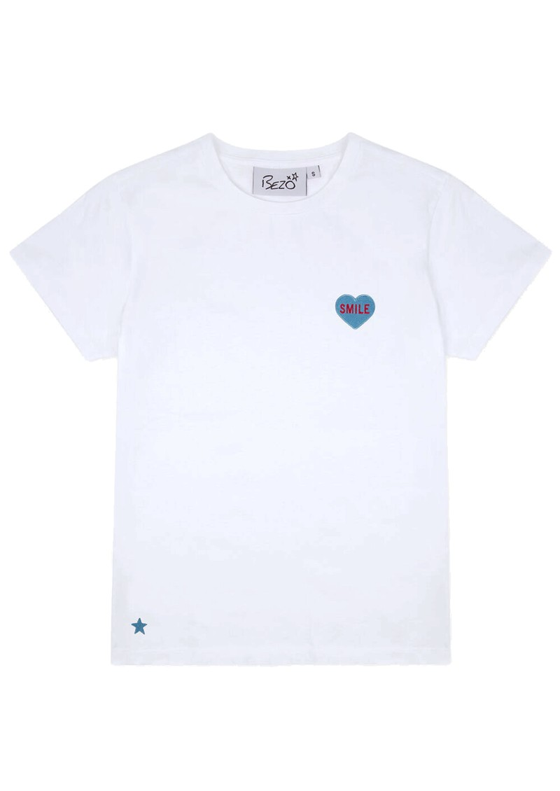 BEZO Love Heart Cotton Tee - Smile main image