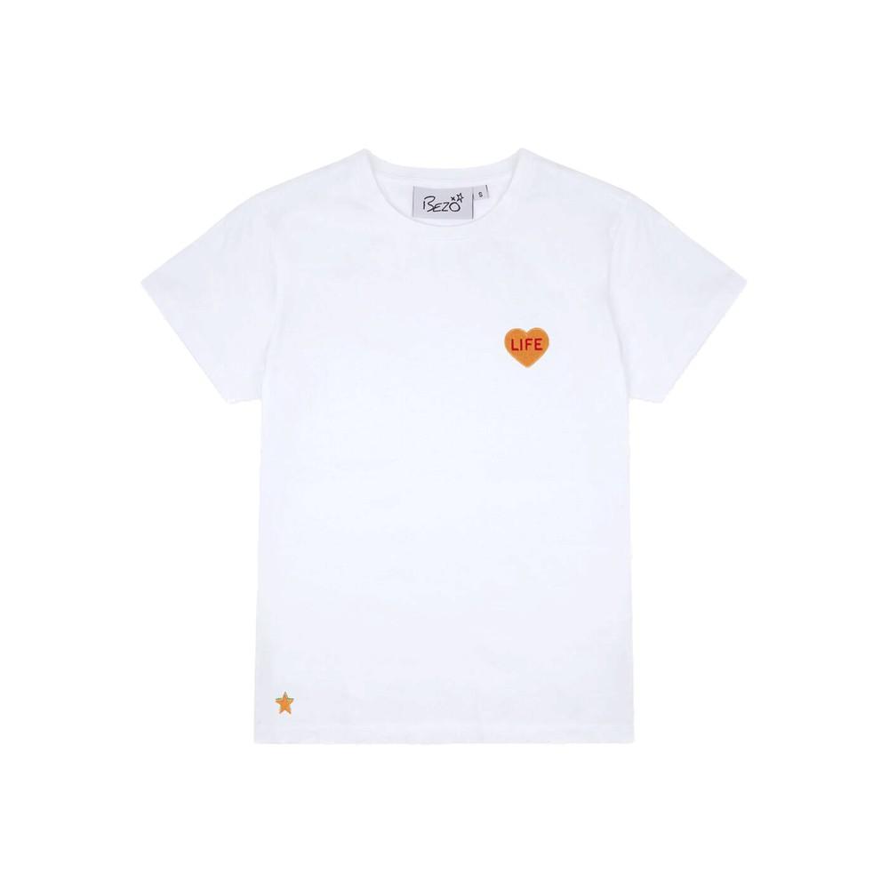 Love Heart Cotton Tee - Life