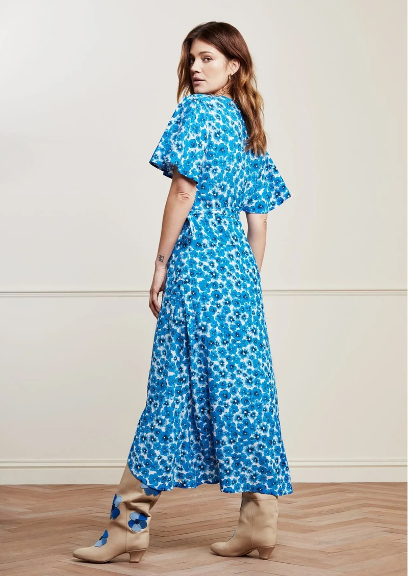 FABIENNE CHAPOT Archana Wrap Dress - Fancy Pansy main image