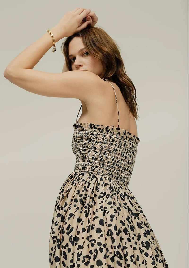 Lily and Lionel Annie Dress - Feline main image