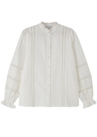 Lily and Lionel Abby Shirt - Ivory