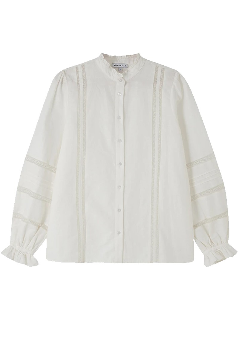 Lily and Lionel Abby Shirt - Ivory main image