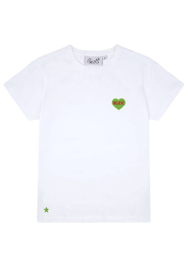 BEZO Love Heart Cotton Tee - Believe main image