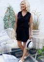Milan Ruffle Shorts - Black additional image