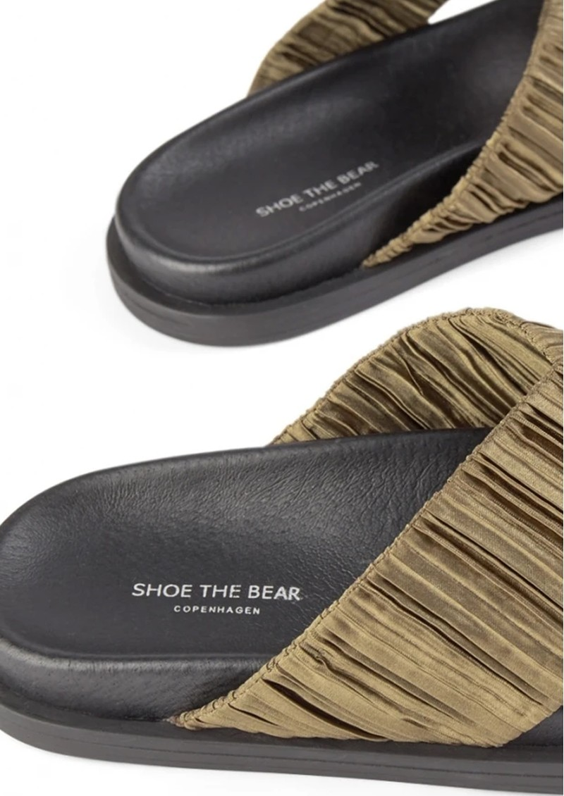SHOE THE BEAR Ivy Cross Sandals - Green main image