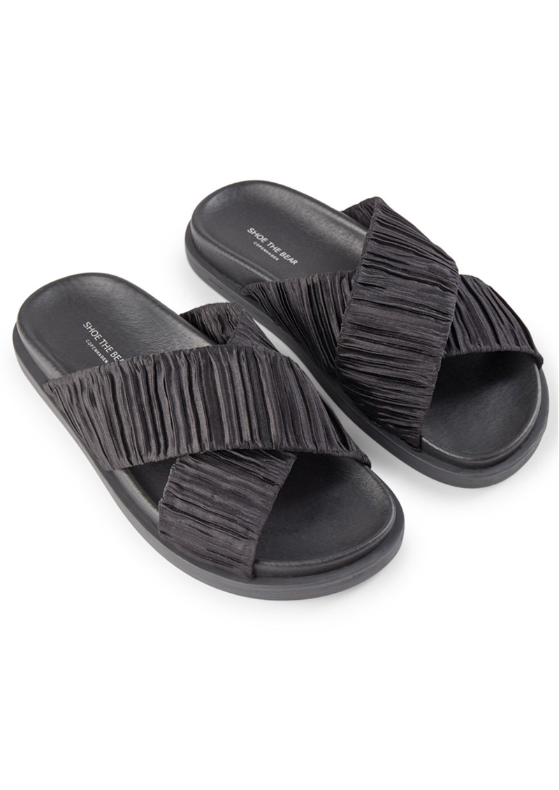 SHOE THE BEAR Ivy Cross Sandals - Black main image