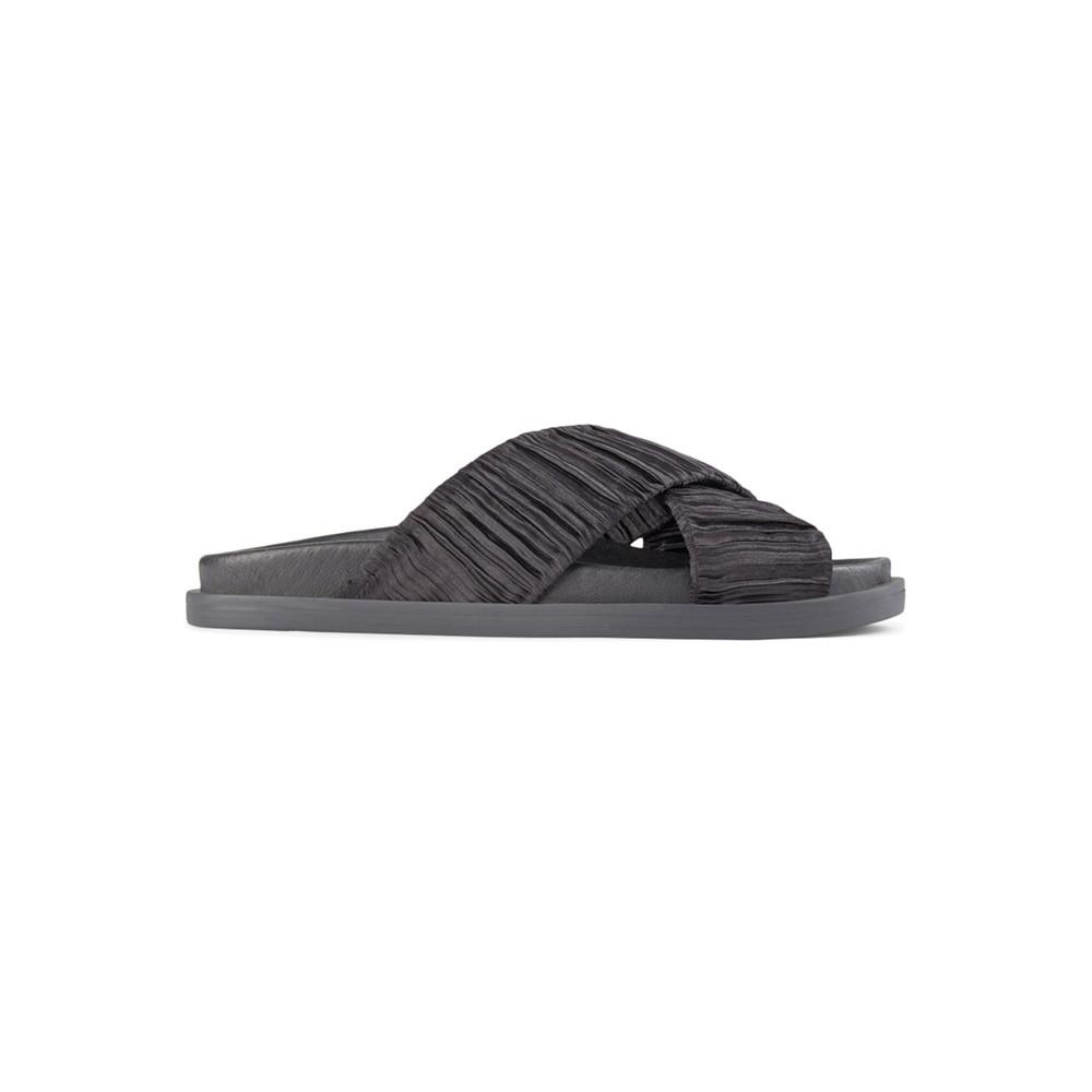 Ivy Cross Sandals - Black