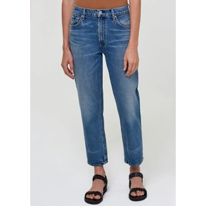 Marlee High Rise Relaxed Taper Jeans - Catalonia