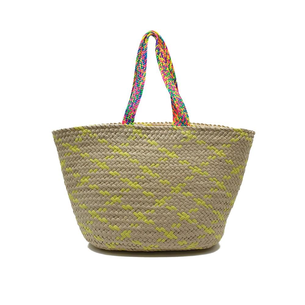 Trueman Basket Bag - Yellow