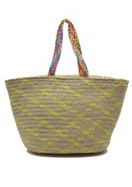 NOOKI Trueman Basket Bag - Yellow