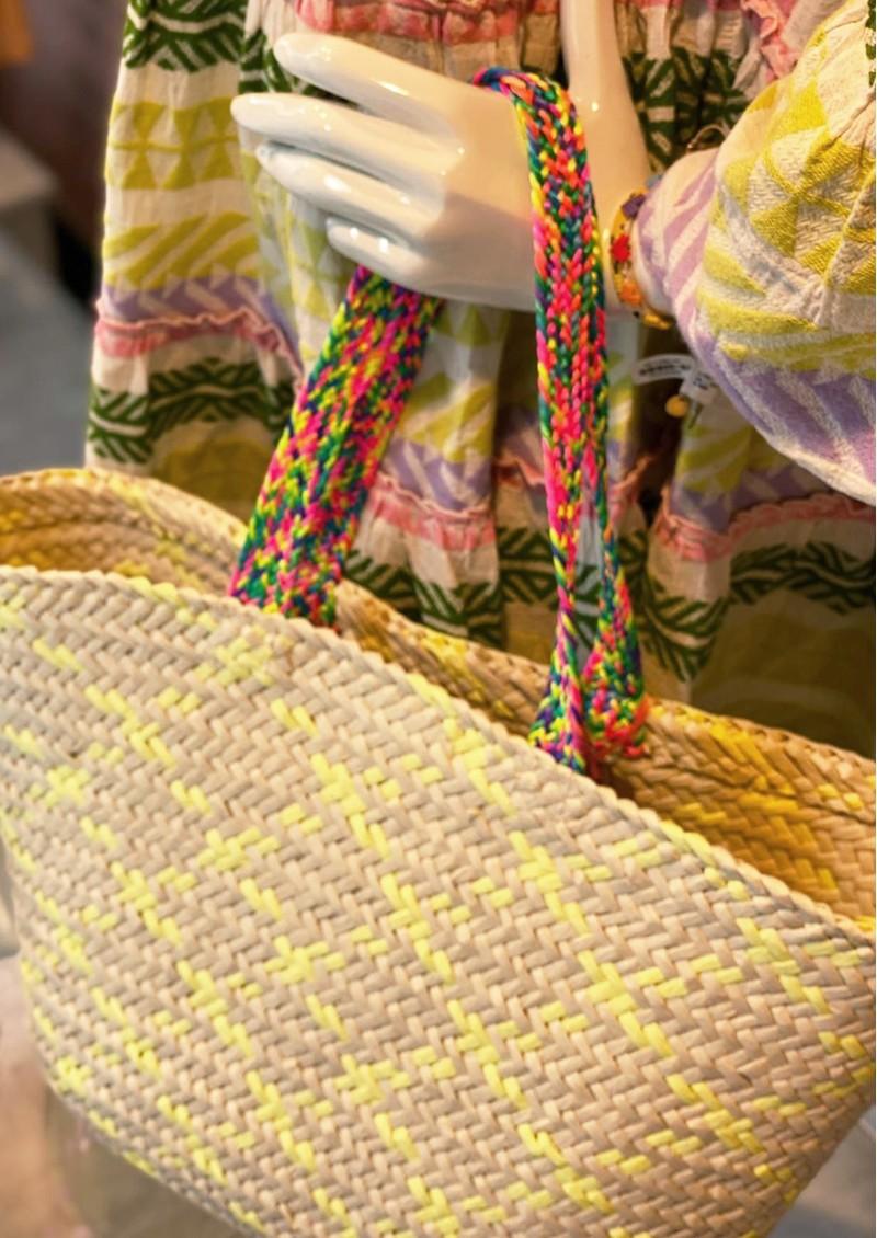 NOOKI Trueman Basket Bag - Yellow main image