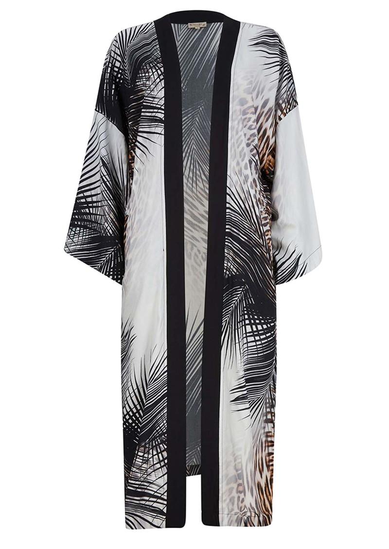 NOOKI Ibiza Long Kimono - Black main image