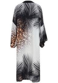 NOOKI Ibiza Long Kimono - Black