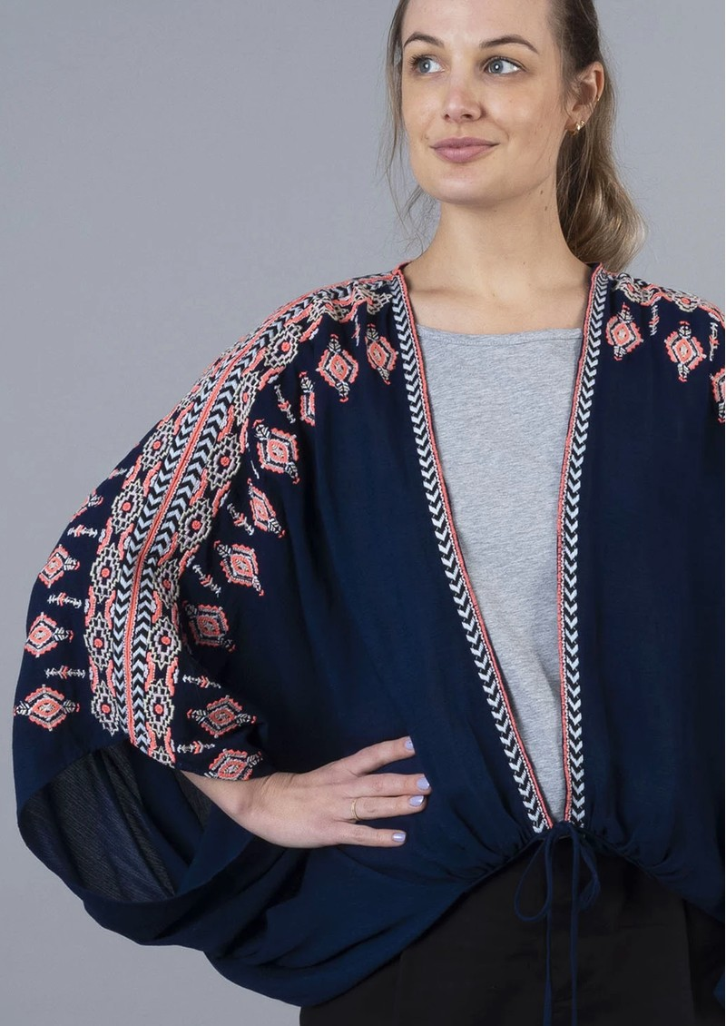 NOOKI Mortimer Cape - Navy main image
