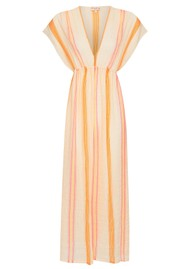 NOOKI Ashmore Cotton Maxi Dress - Stripe
