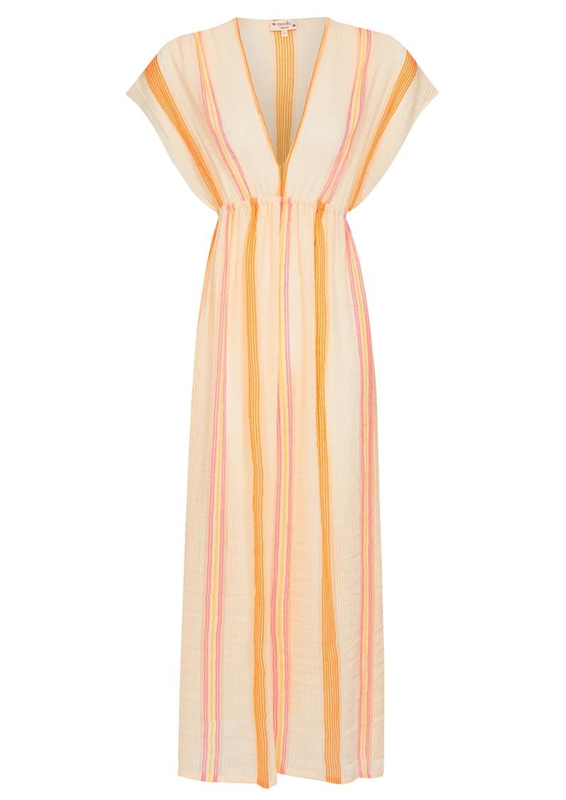 NOOKI Ashmore Cotton Maxi Dress - Stripe main image