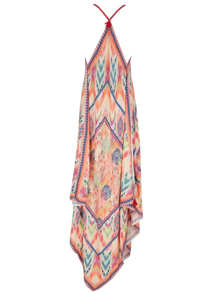 NOOKI Ikat Hanky Dress - Pink main image