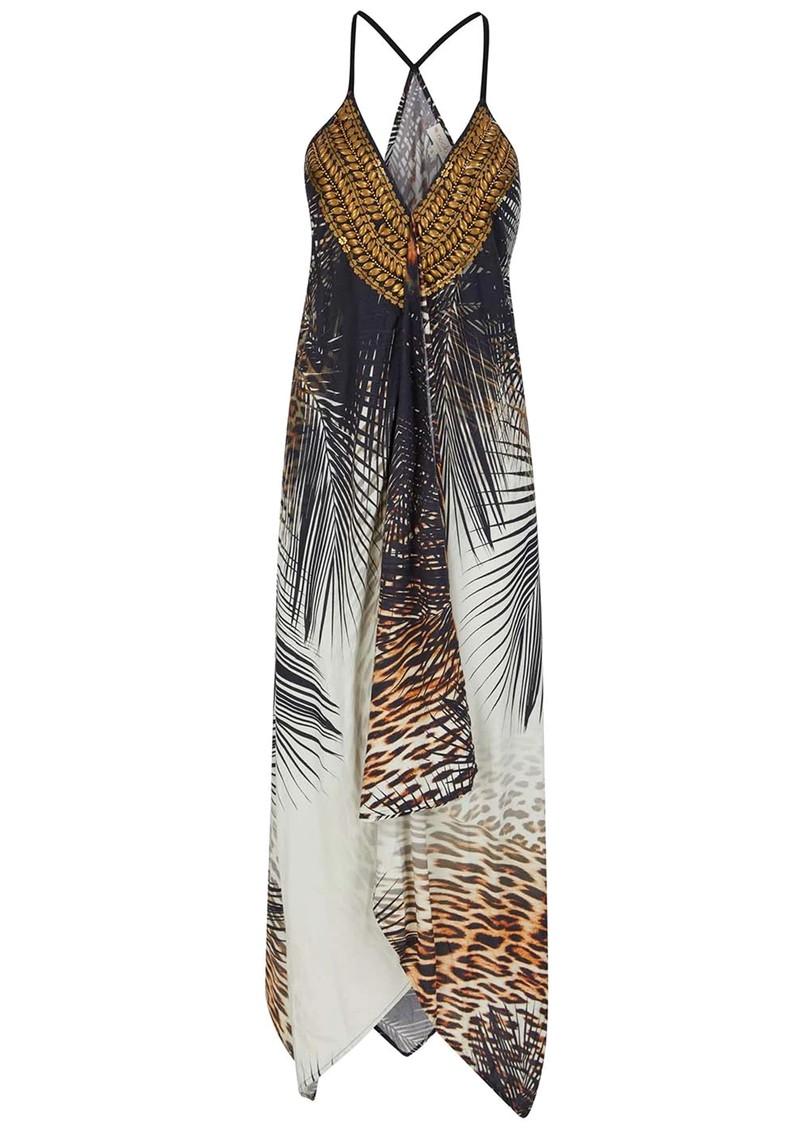 NOOKI Ibiza Hanky Dress - Black main image