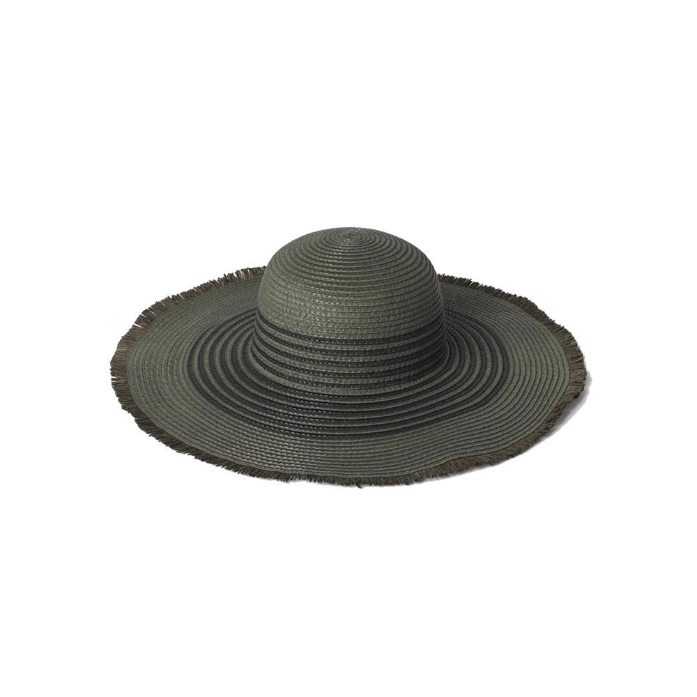 Grethe Straw Hat - Army