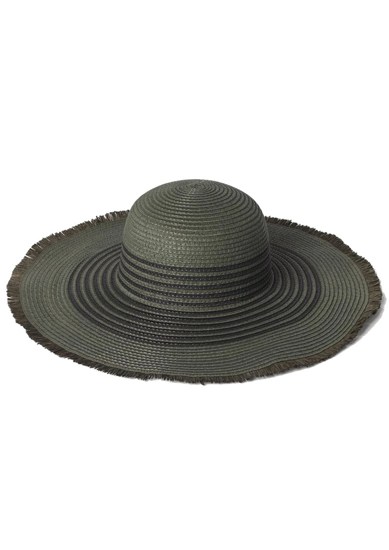 Becksondergaard Grethe Straw Hat - Army main image