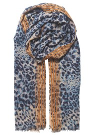 Becksondergaard Lepa Como Cotton Mix Scarf - Blue