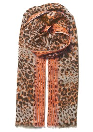 Becksondergaard Lepa Como Cotton Mix Scarf - Brownish