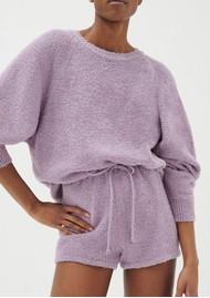 American Vintage Tikob Organic Cotton Jumper - Violet