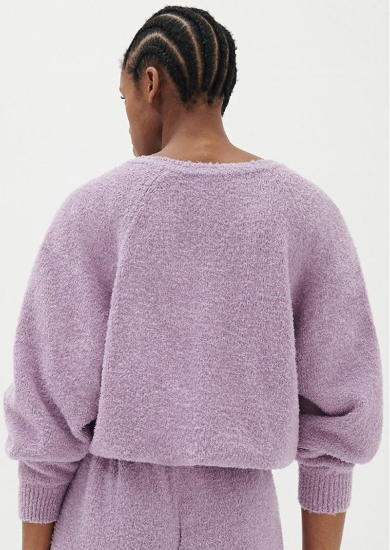 American Vintage Tikob Organic Cotton Jumper - Violet main image