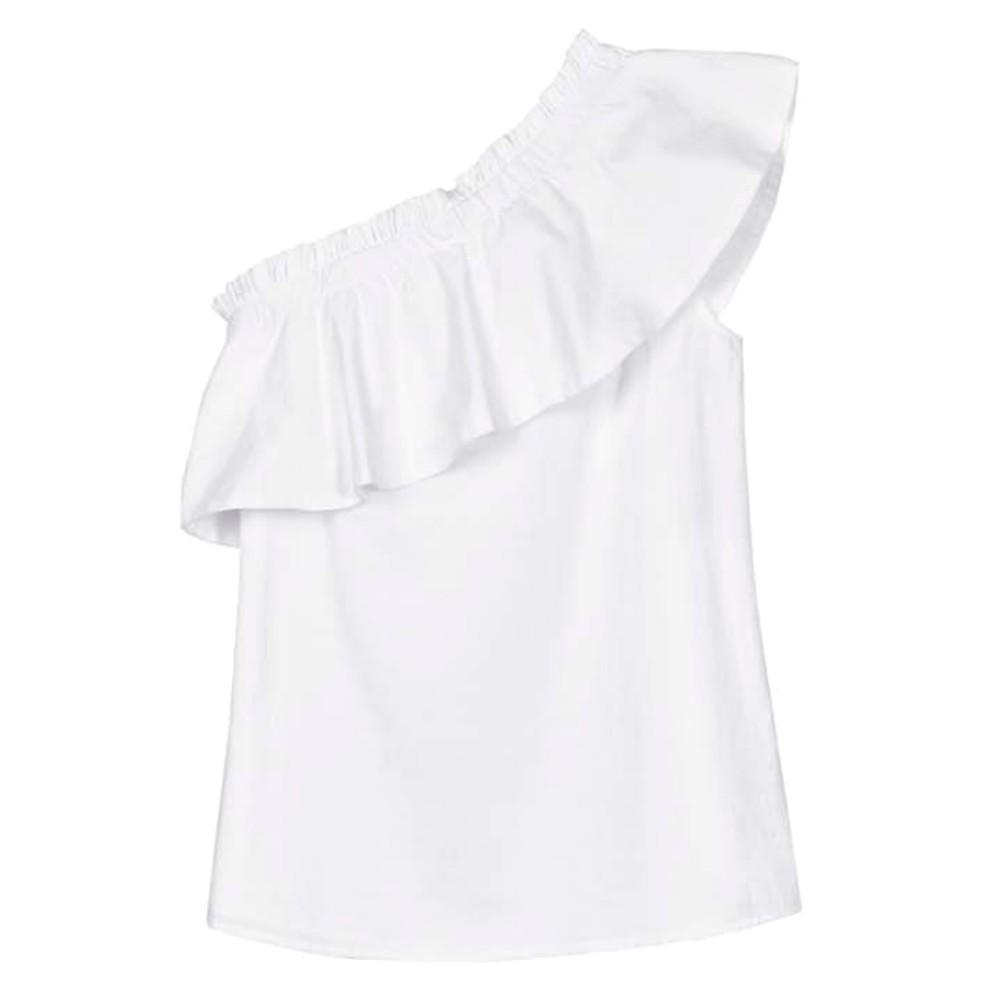 Billie Organic Cotton Top - White