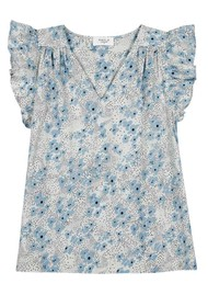 MAYLA Veronica Organic Cotton Top - Ditsy