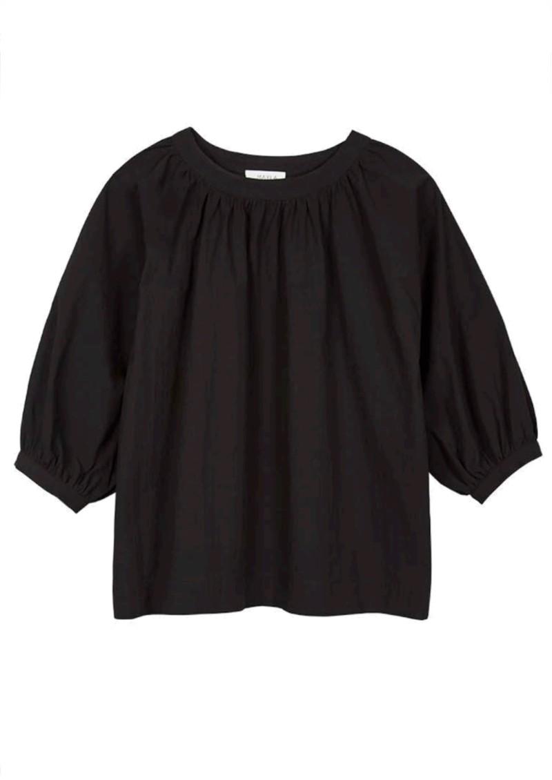 MAYLA Maya Organic Cotton Top - Black main image