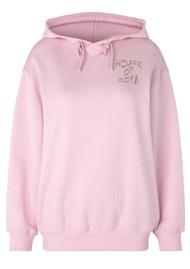 STINE GOYA Adrisa Organic Cotton Tracksuit Hoodie - Pink