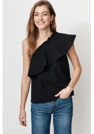 MAYLA Billie Organic Cotton Top - Black